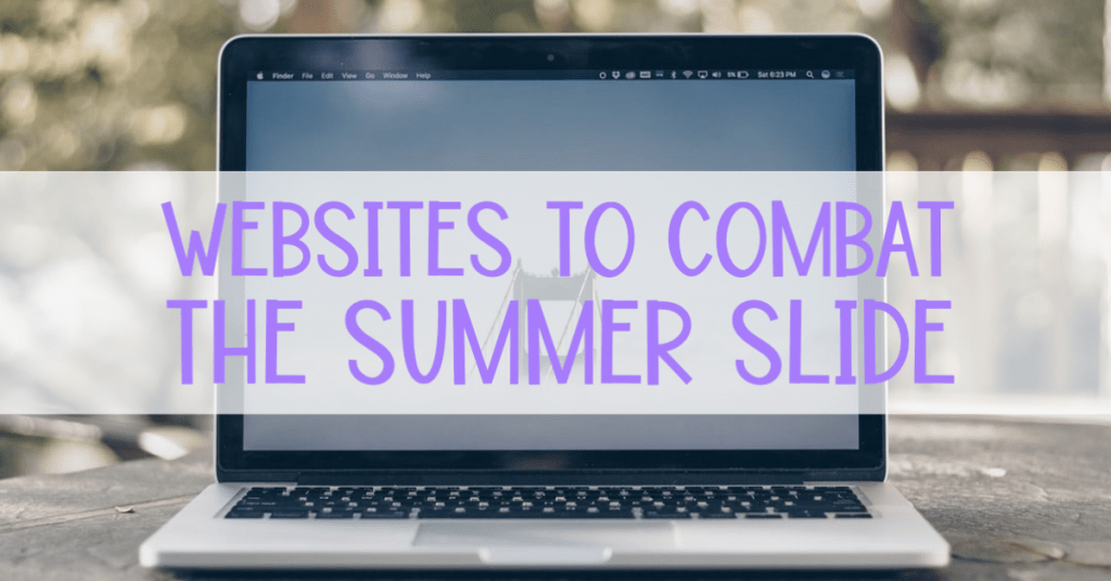 websites to combat the summer slide